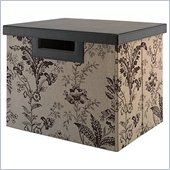 Kathy Ireland by Bush Grand Expressions Large File/Storage Bin
