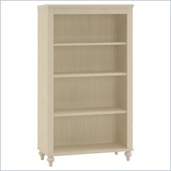 Kathy Ireland by Bush Volcano Dusk 4 Shelf Bookcase in Driftwood Dreams