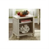 Kathy Ireland by Bush Volcano Dusk End Table in Driftwood Dreams
