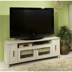 Kathy Ireland by Bush Volcano Dusk TV Stand in Driftwood Dreams