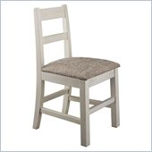 Kathy Ireland by Bush Volcano Dusk Childs' Desk Chair in Antique White