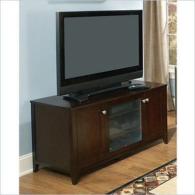 Kathy Ireland by Bush Grand Expressions 47&quot; TV Stand in Warm Molasses