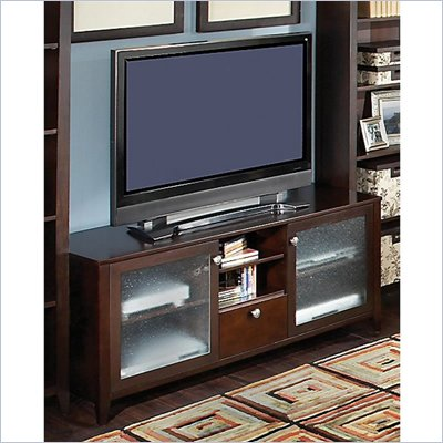 "Kathy Ireland by Bush Grand Expressions 58"" TV Stand in Warm Molasses"