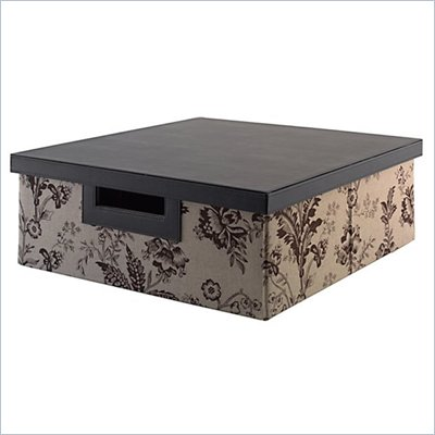 Kathy Ireland by Bush Grand Expressions Media Storage Bin