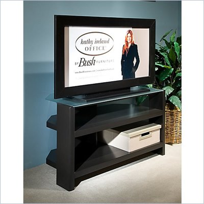"Kathy Ireland by Bush New York Skyline 42"" TV Stand in Modern Mocha"