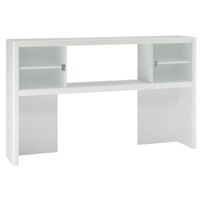 Kathy Ireland by Bush New York Skyline Hutch in Plumeria White