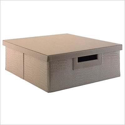 Kathy Ireland by Bush New York Skyline Media Storage Bin