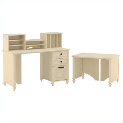 Kathy Ireland by Bush Volcano Dusk Parent and Child Small Office Set