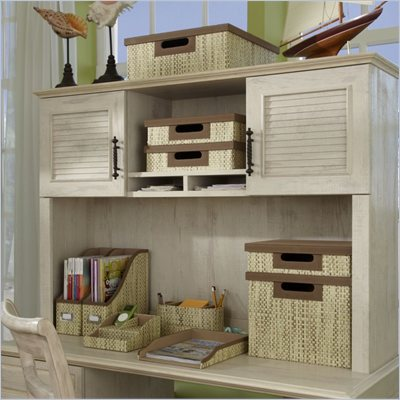 Kathy Ireland by Bush Volcano Dusk 51&quot; Hutch in Driftwood Dreams