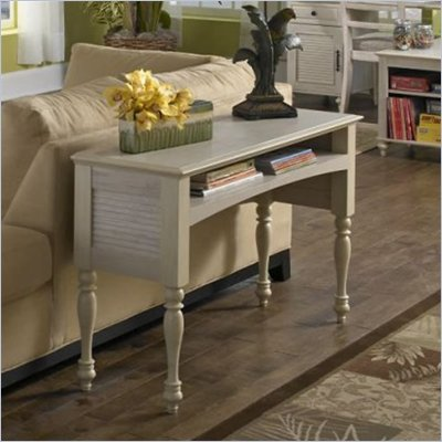 Kathy Ireland by Bush Volcano Dusk Laptop Sofa Table in Driftwood Dreams