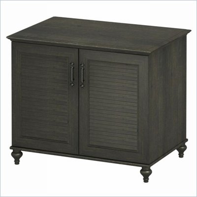 Kathy Ireland by Bush Volcano Dusk 2-Door Cabinet in Kona Coast