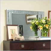 angelo:HOME Marlowe Accent Mirror in Bling