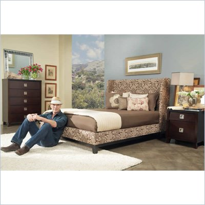 angelo:HOME Marlowe Wendy Pepper Shelter Bed 2 Piece Bedroom Set