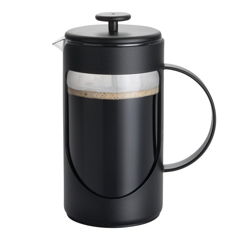 BonJour Coffee 8 Cup French Press in Black 53189