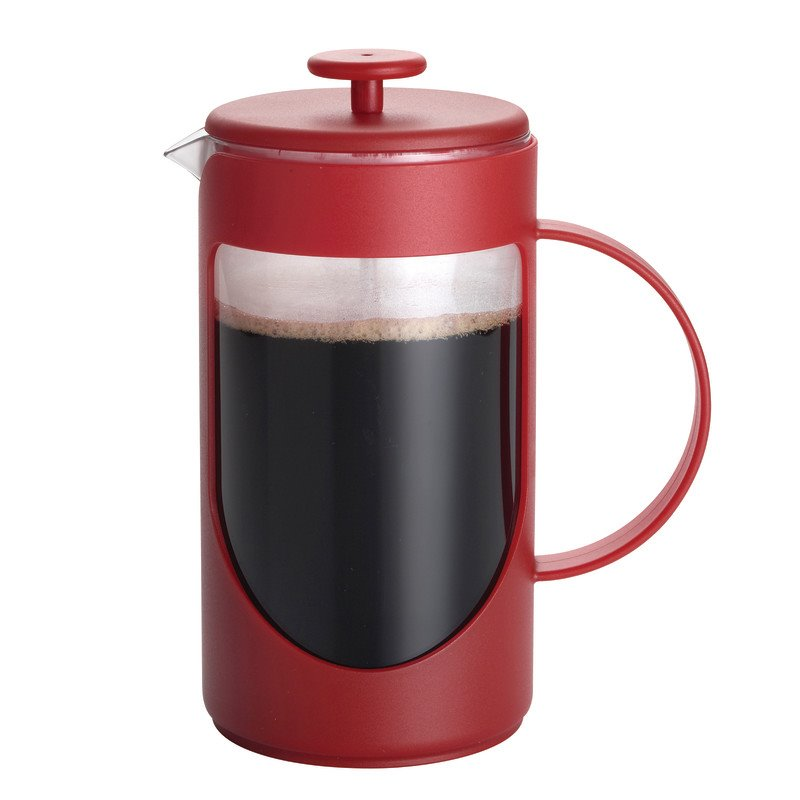 BonJour Coffee 3 Cup French Press in Red 53194