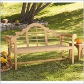 Holly & Martin 5' Teak Davis Bench in Light Brown