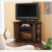 Holly & Martin Akita Convertible Media Electric Fireplace in Espresso
