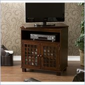 Holly & Martin Akita Swivel Top Media Stand in Espresso