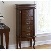 Holly & Martin Amelia Medium Mahogany Jewelry Armoire
