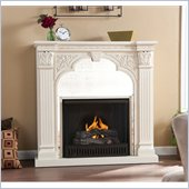 Holly & Martin Andorra Gel Fireplace in Ivory