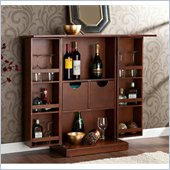 Holly & Martin Archer Fold-Away Bar in Walnut