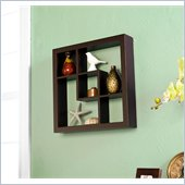 Holly & Martin Arianna Display Shelf 16 in Espresso