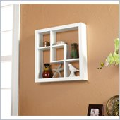 Holly & Martin Arianna Display Shelf 16 in White