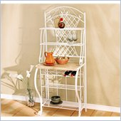 Holly & Martin Atlanta Baker's Rack in White