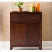 Holly & Martin Audrey Deluxe Storage Cabinet in Contemporary Espresso