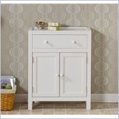 Holly & Martin Audrey Deluxe Storage Cabinet in White
