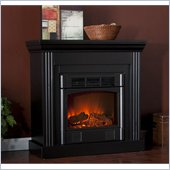 Holly & Martin Bastrop Petite Convertible Electric Fireplace in Black