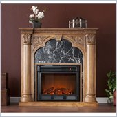 Holly & Martin Bedford Electric Fireplace in Old World Oak