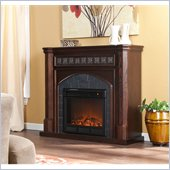 Holly & Martin Belton Electric Fireplace in Espresso
