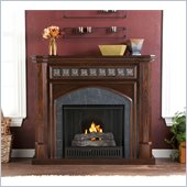 Holly & Martin Belton Gel Fireplace in Espresso