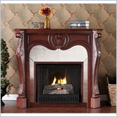 Holly & Martin Burbank Gel Fireplace in Cherry