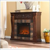 Holly & Martin Calgary Electric Fireplace in Espresso