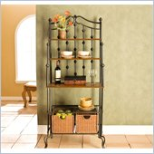 Holly & Martin Carlsbad Baker's Rack in Black