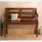 Holly & Martin Cheyenne Classic Bench in Mahogany