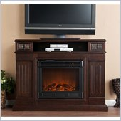 Holly & Martin Clifton Media Electric Fireplace in Espresso