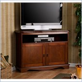 Holly & Martin Clinton Corner TV/Media Stand in Cherry 