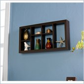 Holly & Martin Collins Display Shelf 24 in Espresso