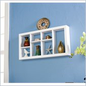 Holly & Martin Collins Display Shelf 24 in White