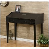 Holly & Martin Dominick Folding Top Laptop Desk in Ebony Stained