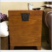 Holly & Martin Dorset Trunk End Table in Oak