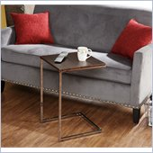 Holly & Martin Douglas Accent Side Table in Espresso