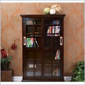 Holly & Martin Emerson Sliding Door Media Cabinet in Espresso