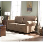 Holly & Martin Fannin Sofa in Light Tan
