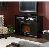 Holly & Martin Fenton Media Electric Fireplace in Black