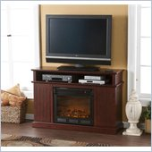 Holly & Martin Fenton Media Electric Fireplace in Cherry
