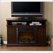 Holly & Martin Fenton Media Electric Fireplace in Espresso